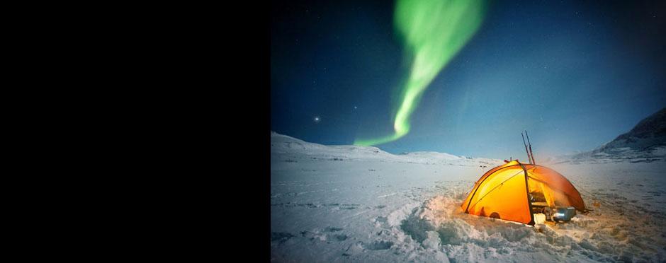 Norrsken, Lappland